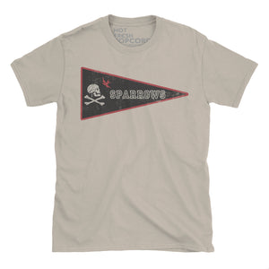 Disney Pirates of the Caribbean inspired Team Sparrows Tshirt