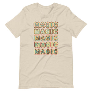 Retro Magic logo tshirt