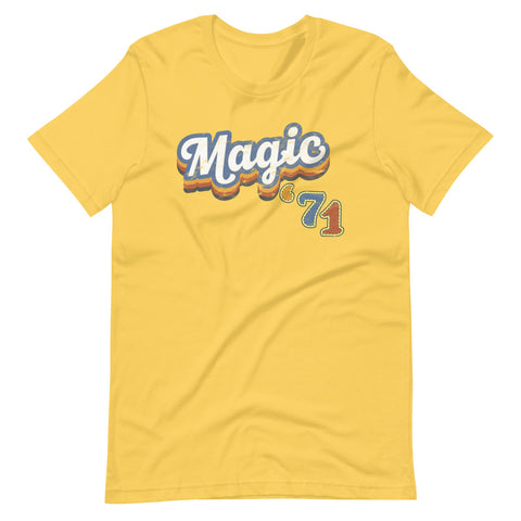 Magic Kingdom Vintage logo Magic '71 tshirt