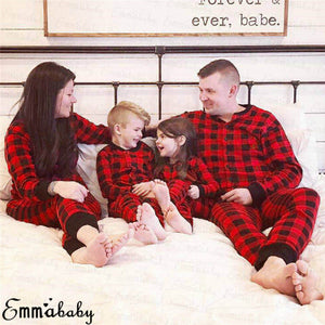 Buffalo Plaid Christmas PJS
