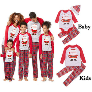 Santa Family Christmas PJs
