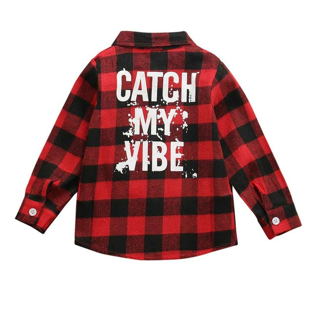 Canadian Flannel - Catch My Vibe