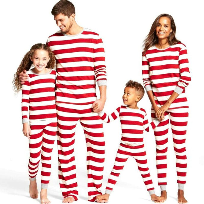 Candy Cane Holiday PJs