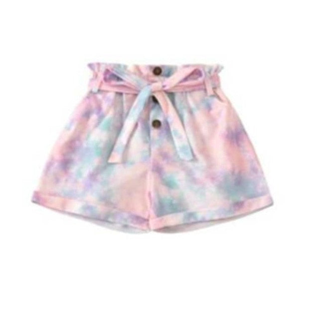 TieDye Mom Jean Short