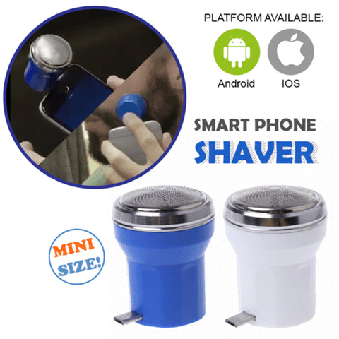 Portable Mini Shaver for Smart Phone with FREE SHIPPING