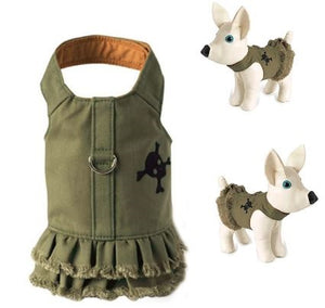 "Jean ""Dress"" Dog Harness"