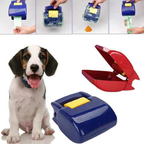 Dog Supplies - Portable Dog Poop Scooper Waste Disposal Tool