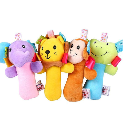 Dog Toys - Cartoon Animal Theme Plush Squeaky Chihuahua Dog Toy