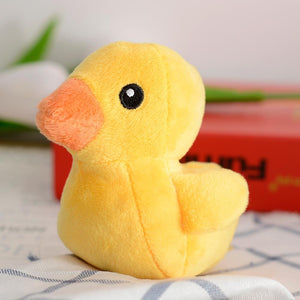Dog Toys - Yellow Duck Squeaky Plush Chihuahua Dog Toy