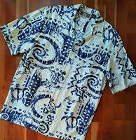 Primitive Turtle Hawaiian Shirt by RJC