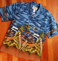 Men's Aloha Shirt KY'S - Smilin' Jake's Casual Apparel