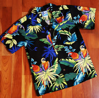 Boys Black Parrot Print by RJC