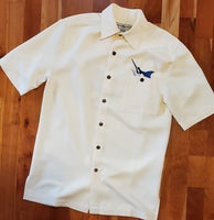 Men's Aloha Shirt Hook and Tackle - Smilin' Jake's Casual Apparel