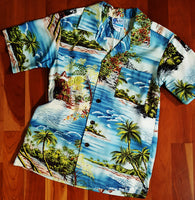 Boys Island Scenic Print Shirt by RJC