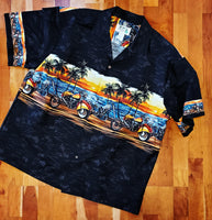 Motorcycle Hawaiian Shirt by KY's