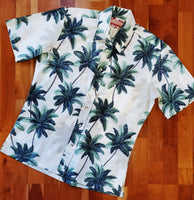 Palm Tree Hawaiian Shirt by RJC