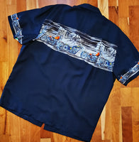 Men's Aloha Shirt Paradise Found - Smilin' Jake's Casual Apparel