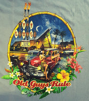 Tee Shirts Old Guys Rule - Smilin' Jake's Casual Apparel