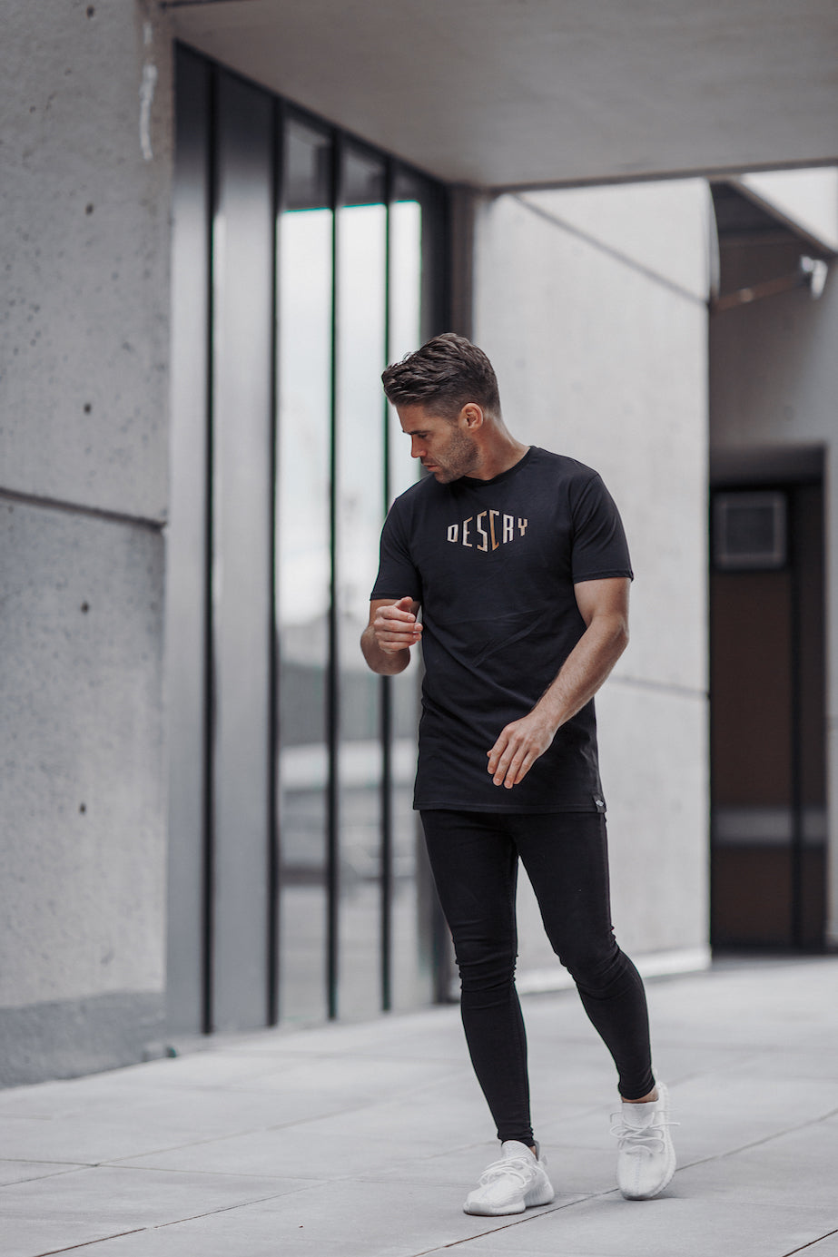 Black/Gold Signature T-Shirt