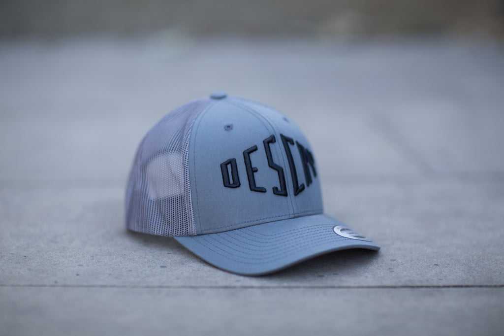 Steel Curved Peak Mesh Trucker
