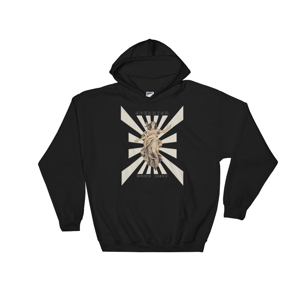 "White Light ""AURORA"" Hooded Sweatshirt"