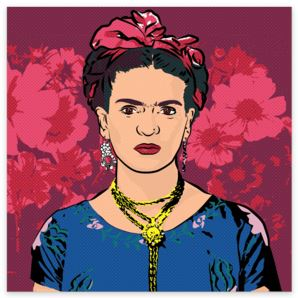 Frida's Flowers Sticker - Sticker - FRIDA VIBES