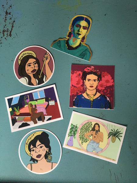 Selfie Queen Sticker - Sticker - FRIDA VIBES