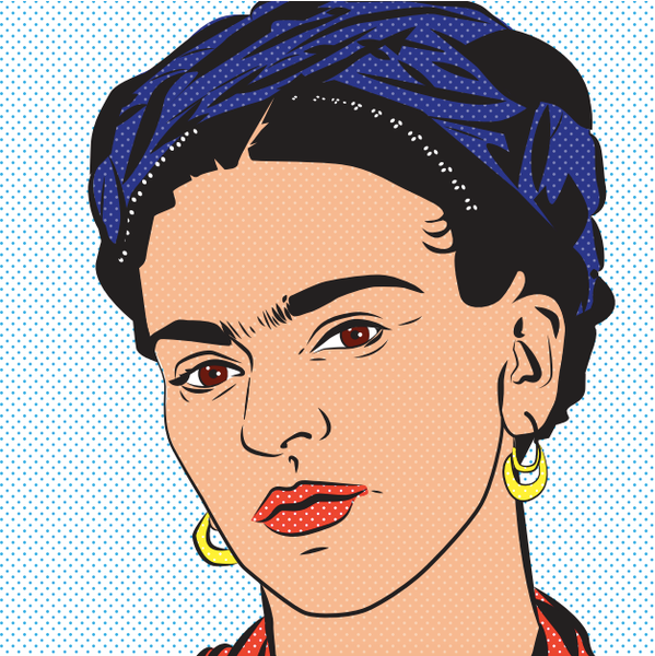 Frida Knows Best Art Print -  - FRIDA VIBES