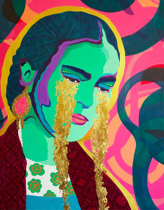 Come Forth as Gold Print - Frida Kahlo Inspired Art -  - FRIDA VIBES
