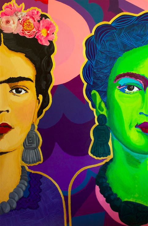 Frida Split in Two - Art Print -  - FRIDA VIBES