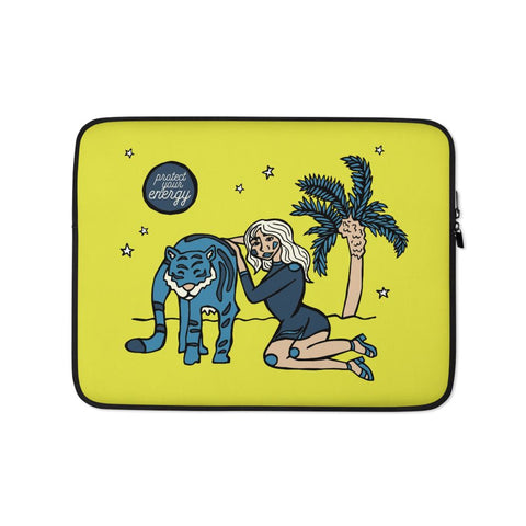 Protect Your Energy Laptop Sleeve -  - FRIDA VIBES