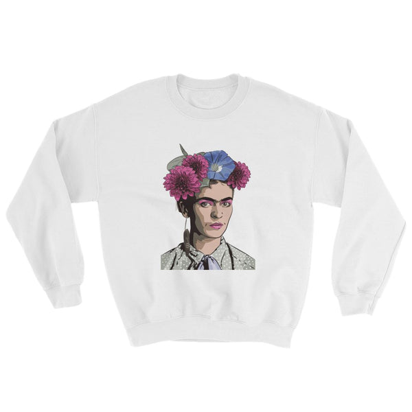 Dahlia Pinnata Art Sweatshirt -  - FRIDA VIBES