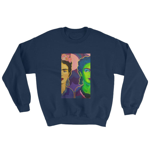 Frida Split in Two Sweatshirt -  - FRIDA VIBES