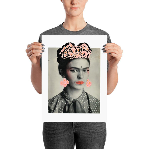 Immortal Flower - Frida Art Print - FRIDA VIBES