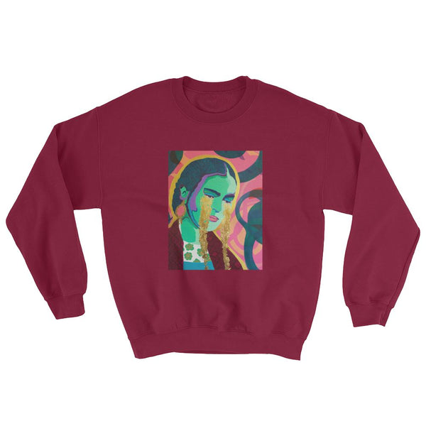 Come Forth as Gold Sweatshirt - FRIDA VIBES