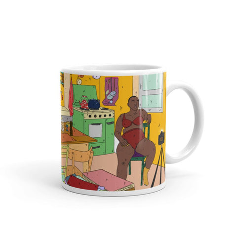 Stillness of a Kitchen Mug 11oz -  - FRIDA VIBES