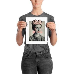 Immortal Flower - Frida Art Print -  - FRIDA VIBES