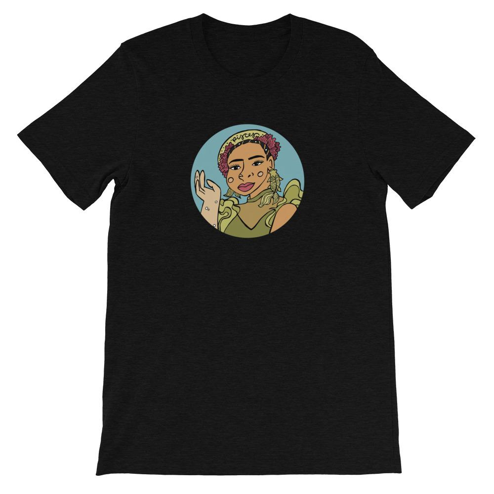 Pisces Astro Series T-Shirt - FRIDA VIBES