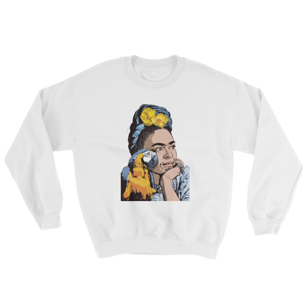 Wings to Fly Art Sweatshirt -  - FRIDA VIBES