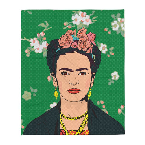 Frida's Legacy Throw Blanket -  - FRIDA VIBES