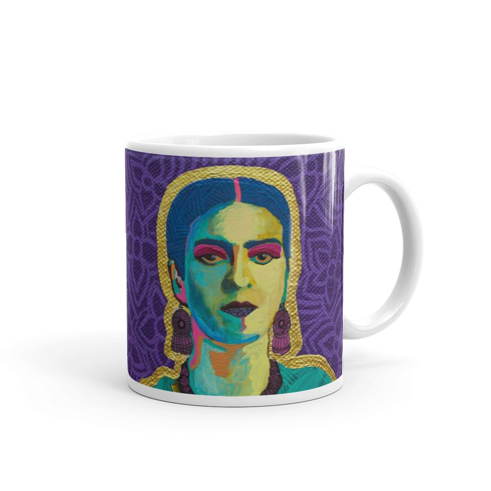 Purple Flowers Mug -  - FRIDA VIBES