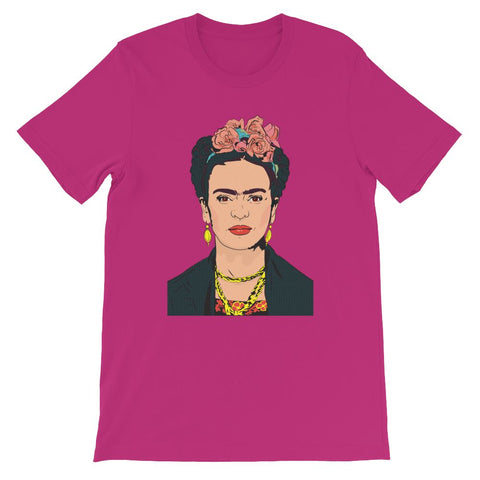 Frida's Legacy Digital Art Graphic T-Shirt -  - FRIDA VIBES