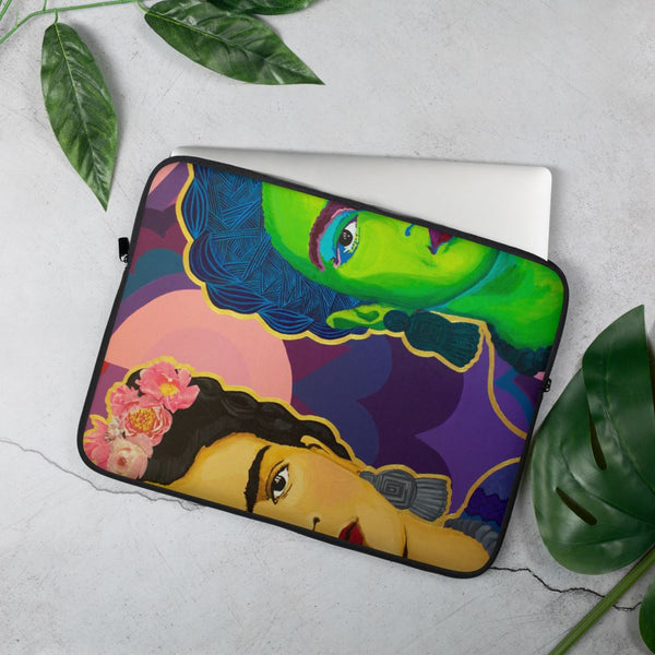 Frida Split in Two Laptop Sleeve -  - FRIDA VIBES