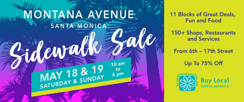 Montana Avenue Sidewalk Sale: Stuff to do in Santa Monica