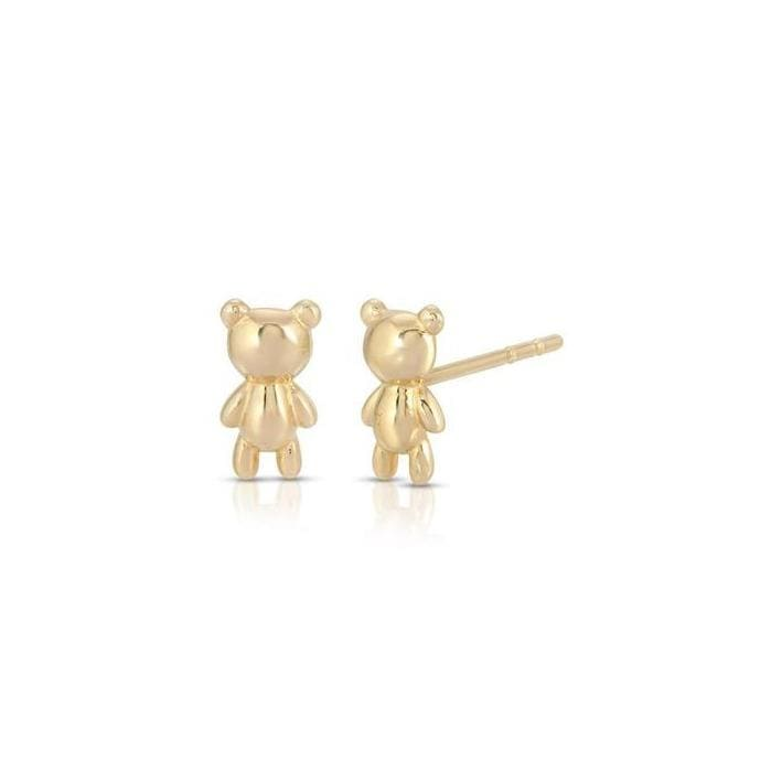 Balloon Teddy Bear Stud Earrings