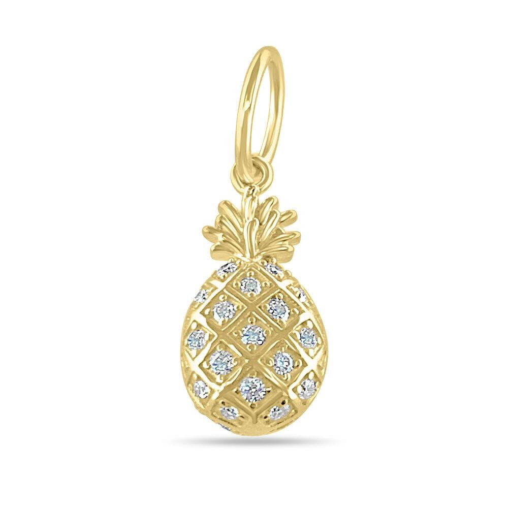 Diamond Pineapple Charm