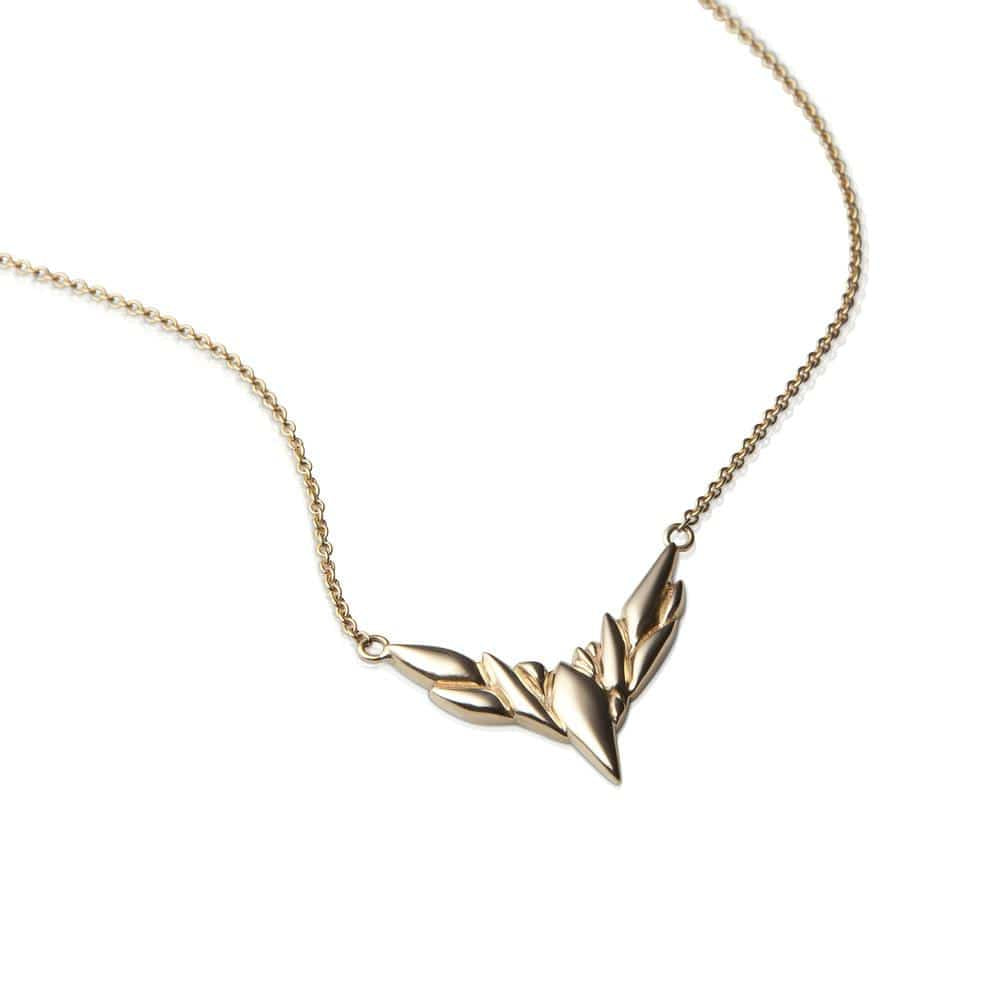 Bird Necklace Sterling Silver - Curated Los Angeles