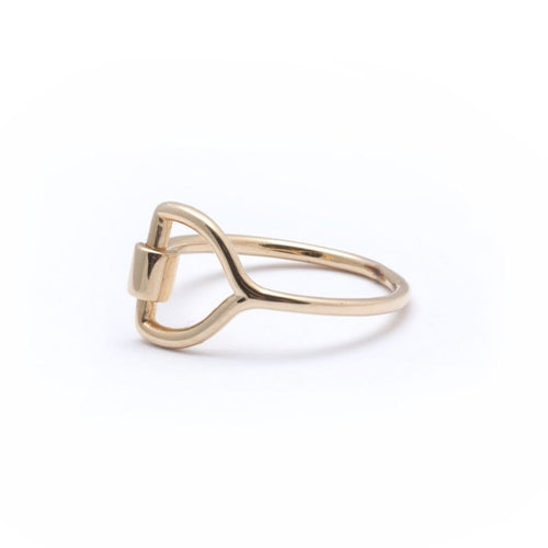 Equestrian  Gold Ring
