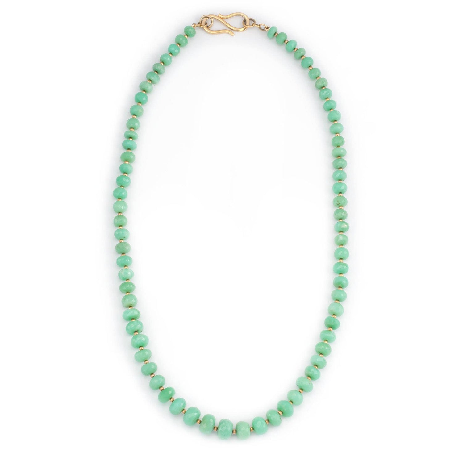 Chrysoprase Strand Necklace