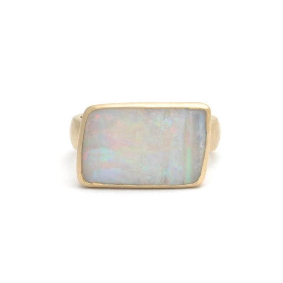 Opal Yellow Gold Cocktail Ring - Curated Los Angeles
